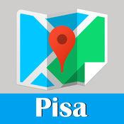 Pisa Map offline, BeetleTrip Tuscany subway metro pass