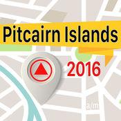 皮特凯恩群岛 离线地图导航和指南