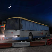 教练巴士夜停车3D - 驾驶游戏