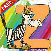 颜色我:ABC动物着色书页孩子玩成人教育字母表游戏幼儿 1.0.