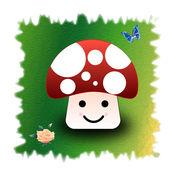 吃蘑菇的马里亚 ...