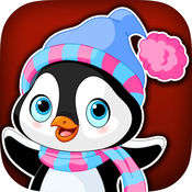 小企鹅粉碎 - 史诗下降雪球道奇