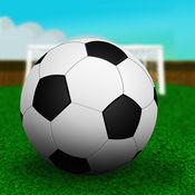 疯狂的沙滩足球挑战亲 - 最好的足球游戏