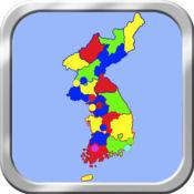 朝鲜半岛地图拼图