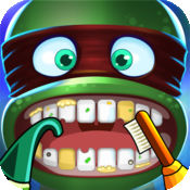 疯狂办公室牙医 - 关于牙齿卫生的重要性的教育游戏!