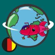 学习基本的德语单词与PlayWord免费的iPhone!