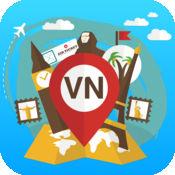 越南 离线旅游指南和地图。城市观光 河内,胡志明市,西宁,