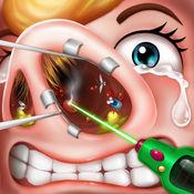 鼻子手术模拟 - 免费医生游戏