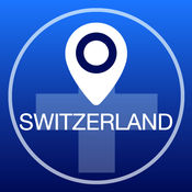 瑞士离线地图+城市指南导航,旅游和运输2.5