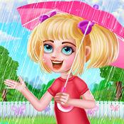 疯狂的女孩第一次雨 - 服装游戏