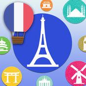 学习法语/法文字母-LingoCards儿童发声字典抽认卡 基礎