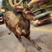 鹿 世界 赛跑 游戏 | 动物 快跑 比赛 冒险 免费