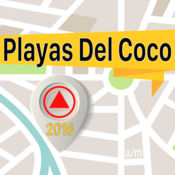 Playas Del Coco 离线地图导航和指南1