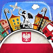 波兰语字典 - 带有抽认卡和母语发音的免费离线短语手册 3.