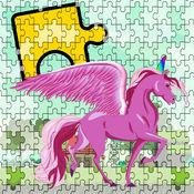 小独角兽和小马拼图