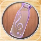 音乐玻璃瓶 - 模拟木琴简易乐器