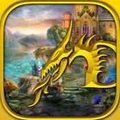 公主和龙 - 隐藏对象的游戏