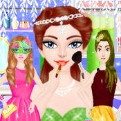 公主美容时尚沙龙 - 化妆化妆女孩游戏