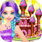 公主生日派对 - 城堡女孩的装扮游戏