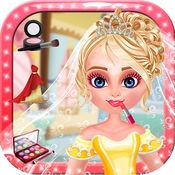 公主新娘装扮 - 女孩花式服装化妆游戏