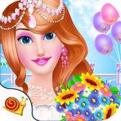 公主Bride-美容沙龙的女孩