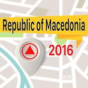 马其顿王国 离线地图导航和指南 1