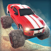 狂野飙车 最高 跑车 大脚车 街机 - 卡通 极品 赛车 卡车 汽车 儿童 飞车 3D 游戏