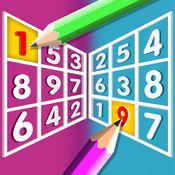 数独—数字达人的逻辑思维导图九宫格小游戏