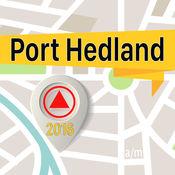 Port Hedland 离线地图导航和指南1