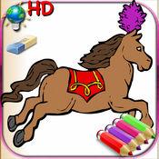 女孩为iPhone和iPod用彩笔着色书  1.3