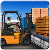叉车 模拟器: 卡车司机: 运输建筑材料