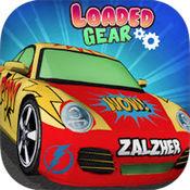 负载齿轮 - 有趣的赛车游戏的孩子