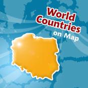 位置图世界各国测验