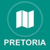 比勒陀利亚,南非 : 离线GPS导航