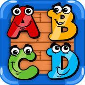 字母 abc 幼兒園 - 少兒英語游戏 1.0.0