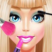 时尚女孩 美容化妆 和水疗沙龙