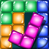 无限级别块拼图 – 容易还是困难的比赛 以丰富多彩的形状 在 好玩盒