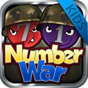 Number War 4 Kids - 编号战争 - 免费拼图板游戏