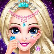 公主眼部纹身绘制