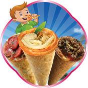 锥比萨制作 - 让我们在这个疯狂的厨房烹饪和烘焙游戏煮美味的意大利美食