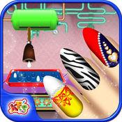 公主美甲工厂 - 在这模拟游戏美容美发及化妆物品