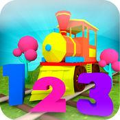 孩子的数字火车游戏 : 学习 1 到 10 1.1