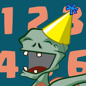 数字僵尸 - 激动人心的学习数字游戏为孩子们用奇数
