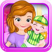 公主生宝宝-照顾新生儿婴儿宝宝游戏