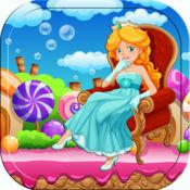 公主拼图 美人鱼 子和幼儿 仙女 童话游戏 教育 在仙境 小马