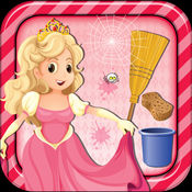 公主房清理 - 清洁和装饰游戏