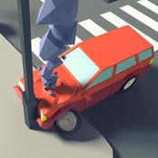 十字路口破裂 - 車輛無盡的拱廊