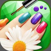 闪光 美甲 工作室 - 涂料 你的指甲 在 最好 美甲沙龙 游戏 对于 女孩