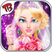 沙龙公主的婚礼日 - 婚礼当天化妆顶级女童和青少年