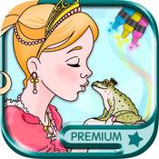 经典童话公主儿童画画游戏(3